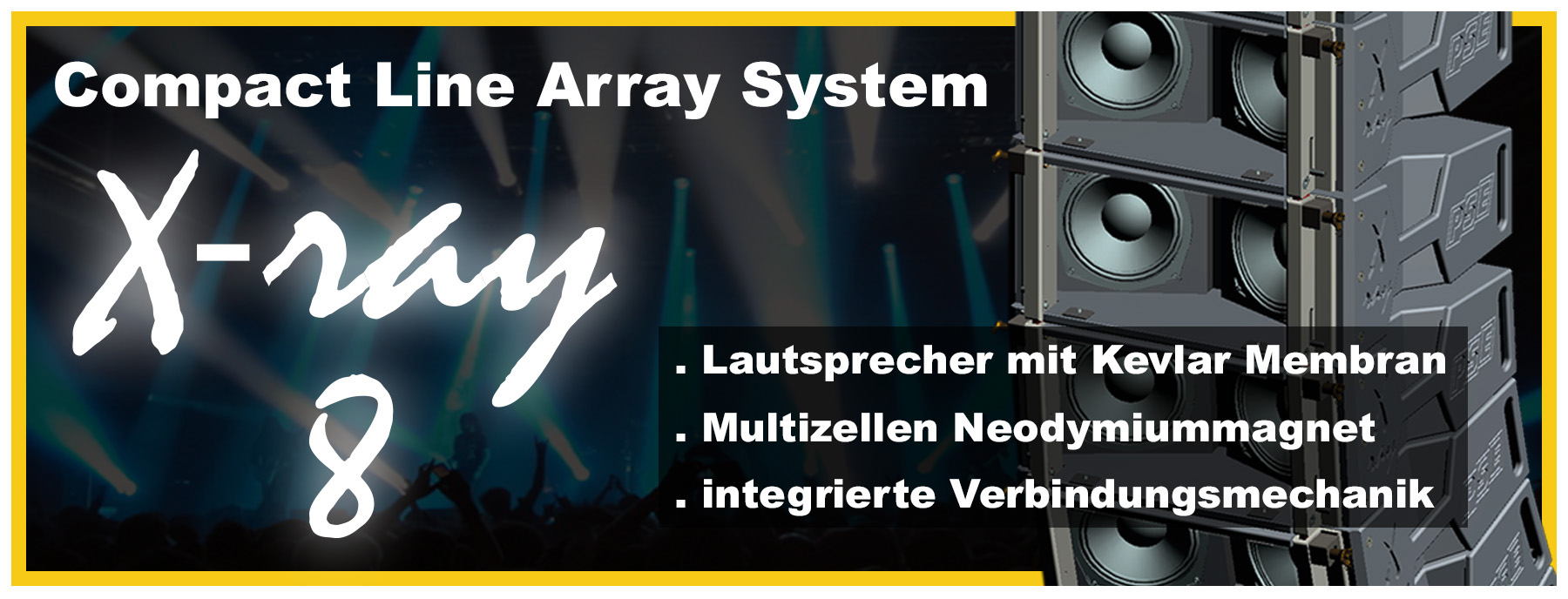X-ray - compact Line Array